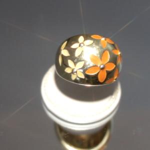 Δαχτυλίδι με Ασήμι & Σμάλτο