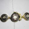 Κολίε με Φυσικά Διαμάντια σε Ασήμι 925k
