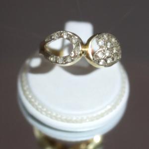 Δαχτυλίδι με Χρυσό & 21 Ζαφείρια 100% Φυσικά