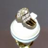 Δαχτυλίδι με Χρυσό 14Κ & Κιούμπικ Ζιργκόν