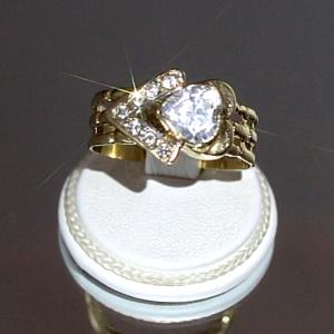 Δαχτυλίδι με χρυσό 14Κ