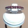 Δαχτυλίδι με Χρυσό 14Κ & Ρουμπίνια 100% Φυσικά!