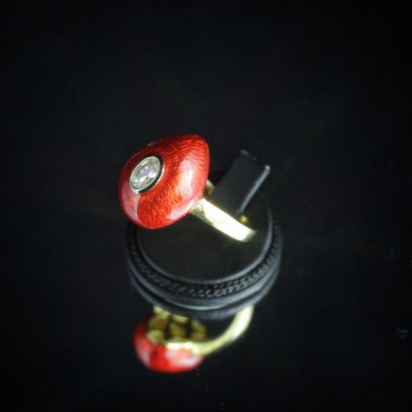 Δαχτυλίδι σε Ασήμι 925 με Σμάλτο   CZ Zircon (ΚΩΔ 6942) – Gempalace 467a1c4b3ae
